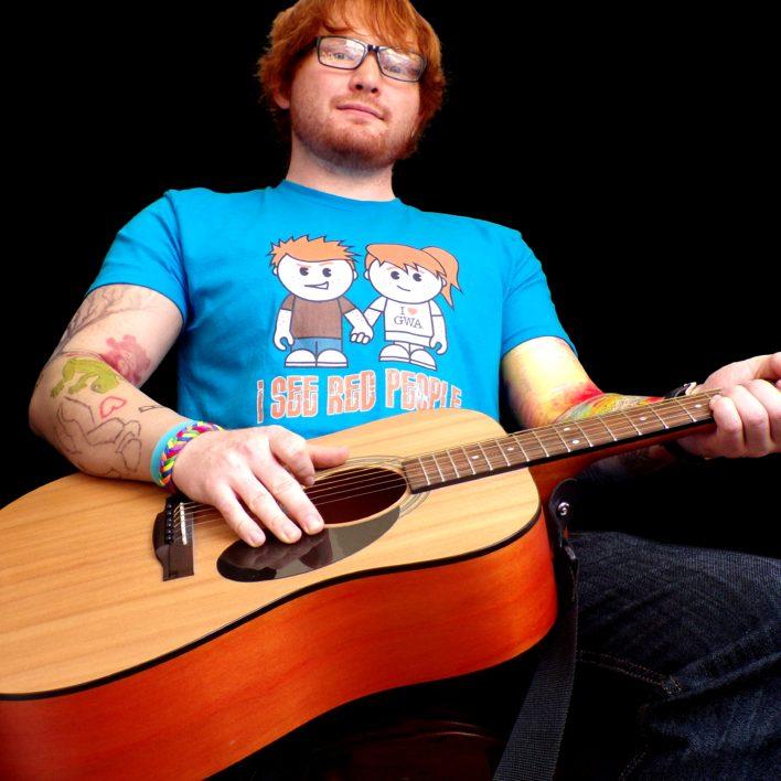 Ed Sheeran Look Alike