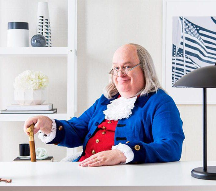 Benjamin Franklin Look Alike