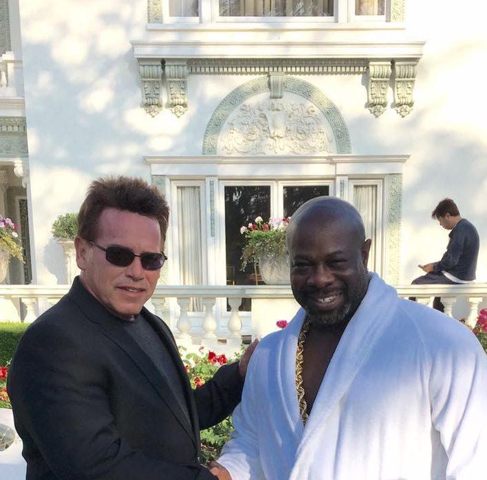 Arnold Schwarzenegger Look Like
