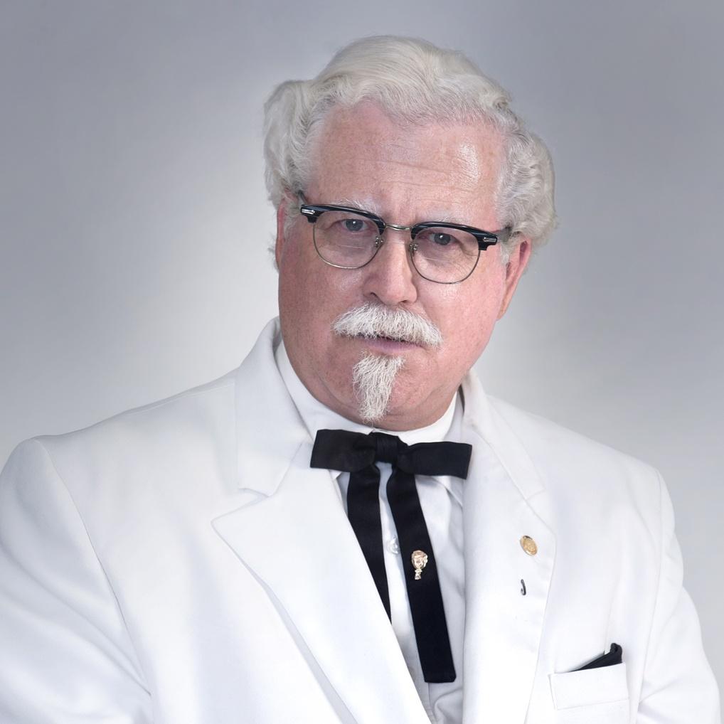 Colonel Sanders Mirror Images