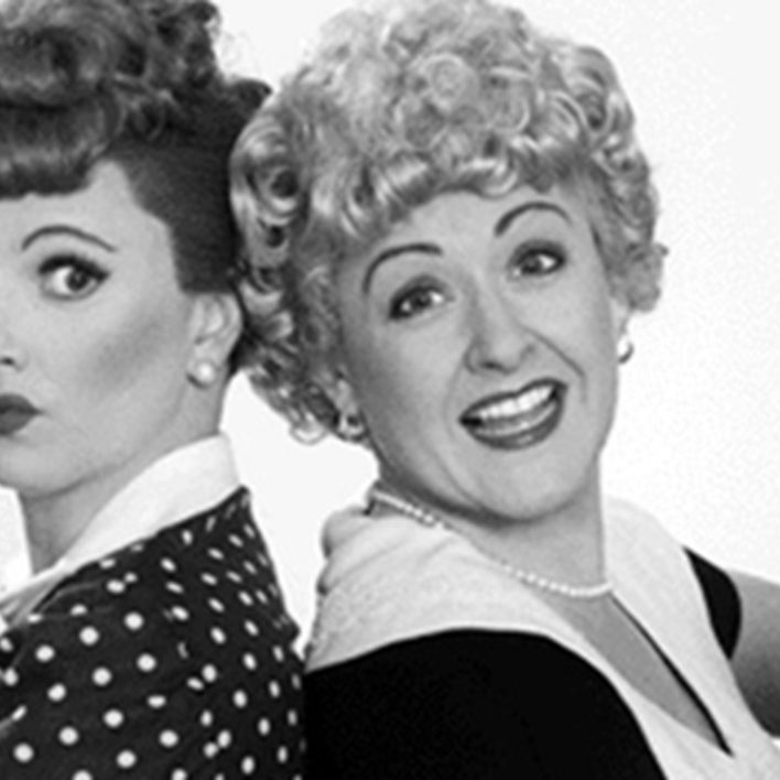 Lucy & Ethel Look Alike