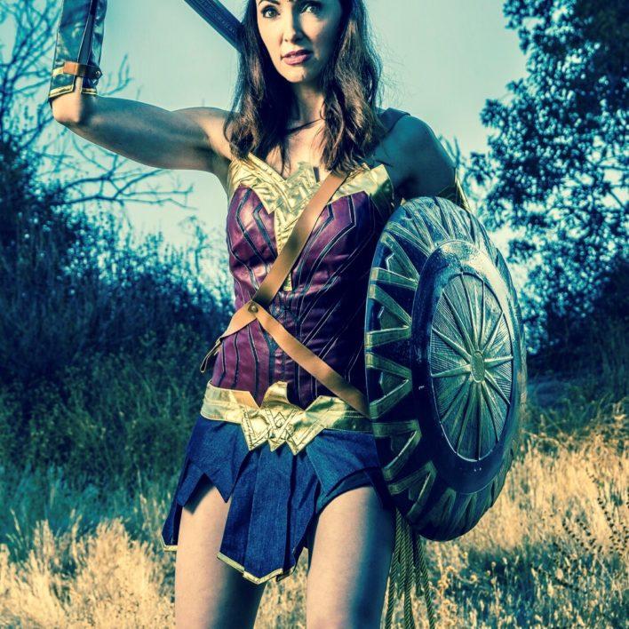 Wonder woman Look ALike