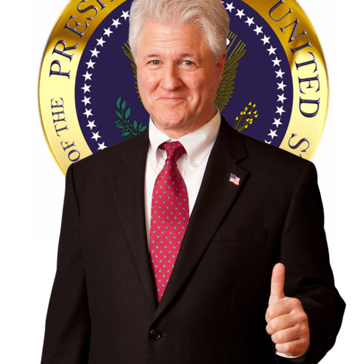President Bill Clinton Look Alike