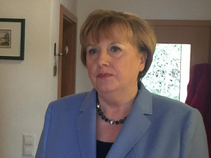 Angela Merkel Look Alike