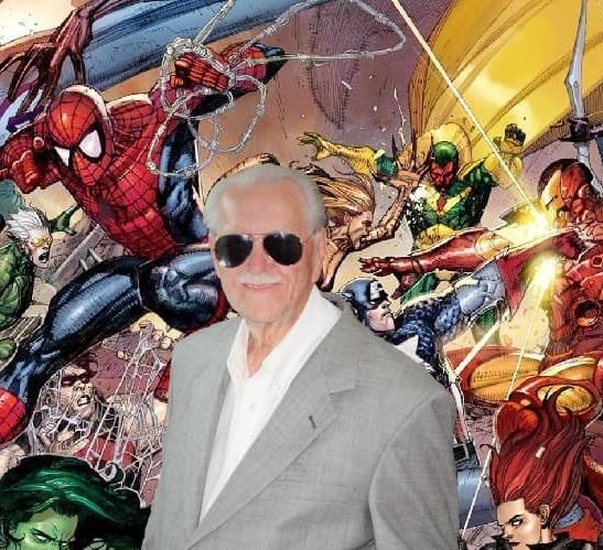 Stan Lee Look Alike
