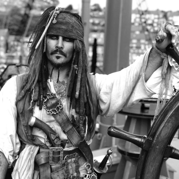 Capt. Jack Sparrow Look Alike UK