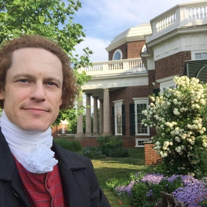 President Thomas Jefferson Impersonator