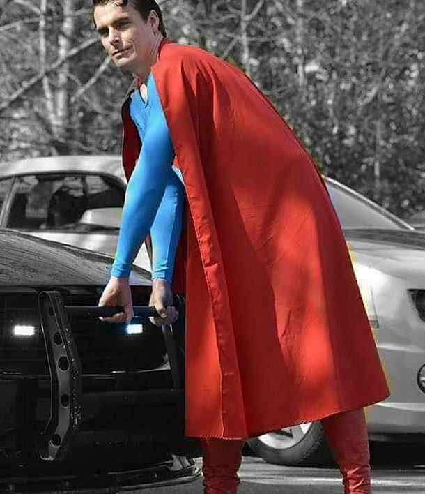 Christopher Reeves Superman Look Alike