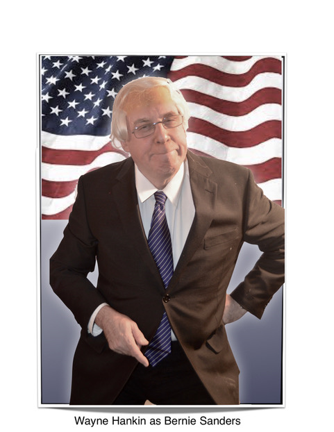 Bernie Sanders Look & Sound Alike