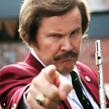 Ron Burgundy Look & Sound Alike