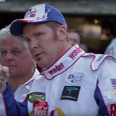 Ricky Bobby Look & Sound Alike