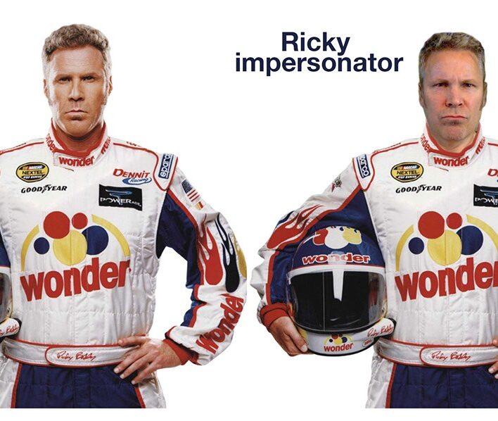 Ricky Bobby Look & Sound Alike