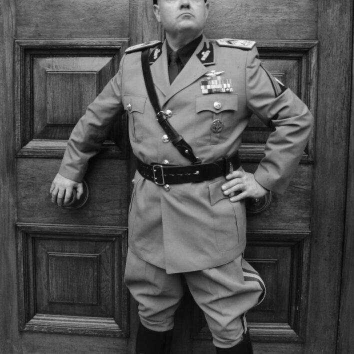 Mussolini Look Alike