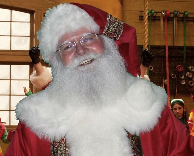 Santa Claus Look Alike
